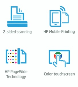HP PageWide 377dw Features