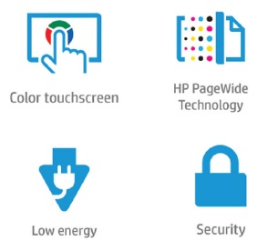 HP PageWide Enterprise Color 556 Features