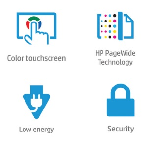 HP PageWide Managed Color MFP E58650 Features
