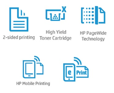 HP PageWide Managed P57750dw Features