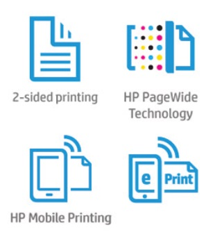 HP PageWide Pro 452dw Features