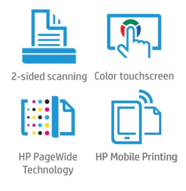 HP PageWide Pro 477dw Features
