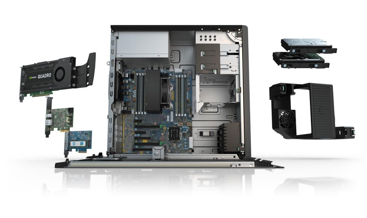 HP WorkStation Z440 Aufbau