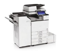 Ricoh MP C5504 mit Optionen