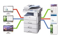 Ricoh Aficio MP 201SPF Workflow