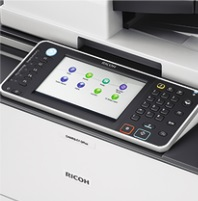 Ricoh MP C8002SP Bedienpanel