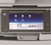 Ricoh MP C3503ZSP Multi-Touch-Bedienfeld