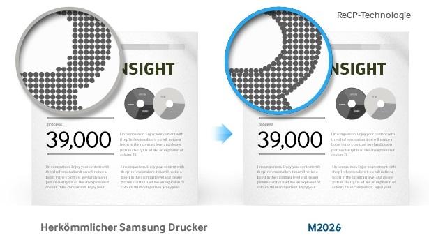 Samsung Xpress M2026 Druckqualität