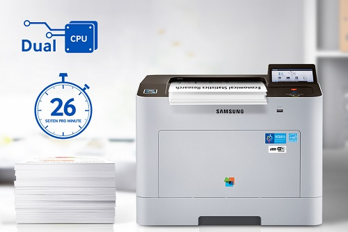 Samsung ProXpress C2620DW Produktivität