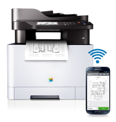 Samsung Xpress C1860FW Mobile Printing
