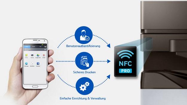 Samsung MultiXpress M5370LX NFC