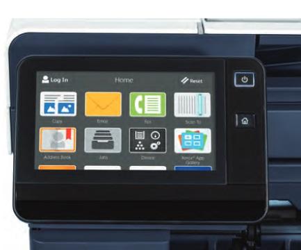 Xerox VersaLink B610 Touchscreen