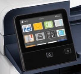 Xerox VersaLink C400 Touchscreen