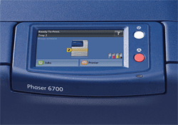 Xerox Phaser 6700 Display