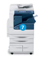Xerox WorkCentre 5300 Serie mit internem Finisher
